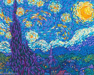 Hoyle's Starry Night